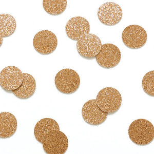 Beautiful Botanics Rose Gold Glitter Confetti