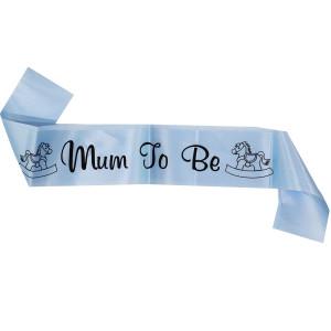 Mum to be Boy Sash