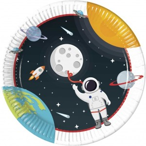 Space Adventure Paper Plates (8)