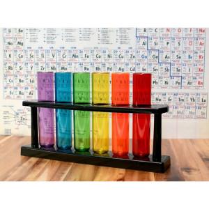 Colourful Test Tube Set (6)