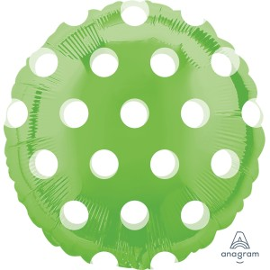Lime Green MagiColor Foil Balloon 18 inch