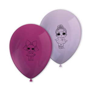 LOL Surprise Printed Balloons (8)