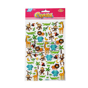 Animal Jungle Crystal Stickers