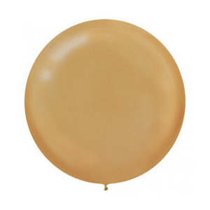 Gold 80cm Latex Balloon
