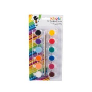 Paint Set with Brush (12)