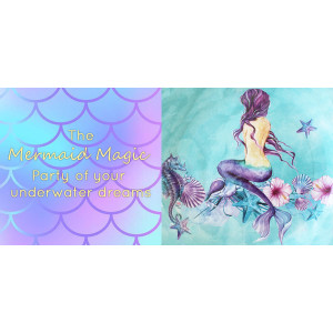 Little Mermaid Foil 18 Inch Balloon