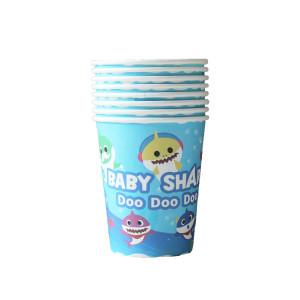 Baby Shark Paper Cups (8)