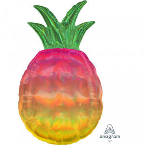 Pineapple Ombre Super Shape Foil Balloon