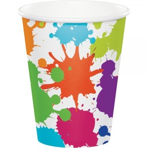 Art Party Paper Cups (8)