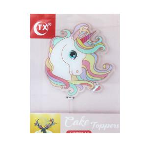 Unicorn Acrylic Cake Topper