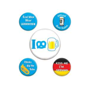 Oktober Fest Party Badges (5)