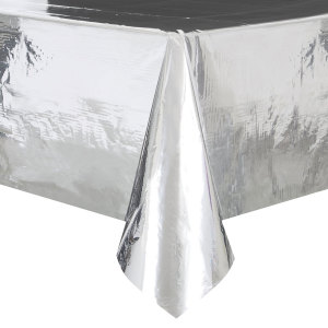 Silver Foil Tablecover