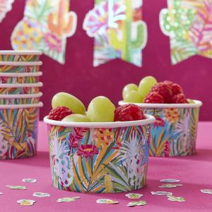 Hot Summer Paper Treat Tubs (8)