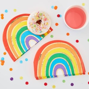 Over The Rainbow Rainbow Paper Napkins (16)