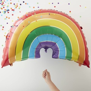 Over The Rainbow Rainbow Balloon 34 Inch