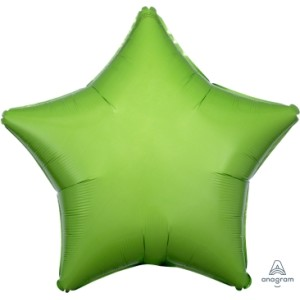Kiwi Green Star Foil Balloon 18 inch