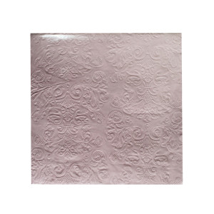 Light Pink Embossed Napkins (20)