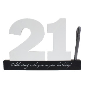 21st Memory Block with Pen