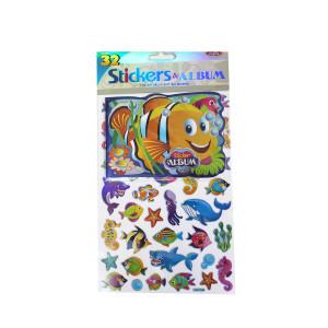 Under the Sea Stickers plus album