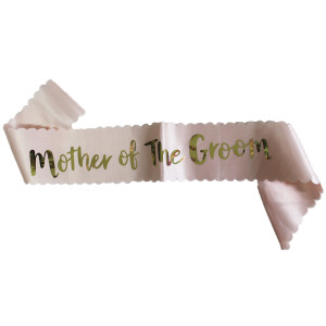 Mother of the Groom Sash