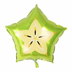 Tropical Star Fruit Foil Balloon 18 inch