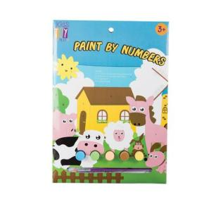 Paint By Numbers Paint and Puzzle Set
