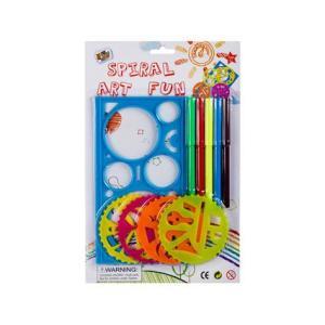 Stationery Stencil Spiral Fun Set