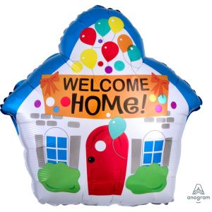 Welcome Home House Balloon