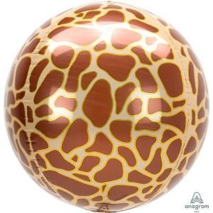 Giraffe Print Orb Balloon