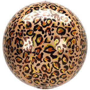 Leopard Print Orb Balloon