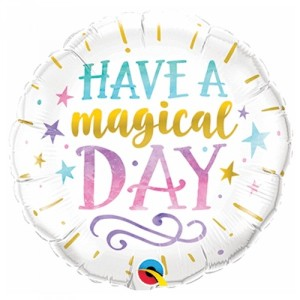 Have A Magical Day Foil Balloon 18 Inch