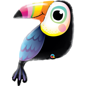 Colourful Toucan Supershape Balloon 41 Inch