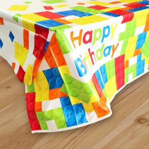 Building Blocks Plastic Tablecover