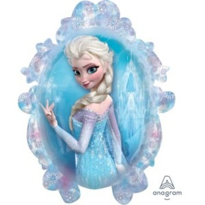 Frozen Balloon Elsa Supershape