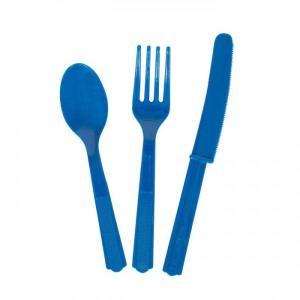 Cobalt Blue Cutlery Set (18 )