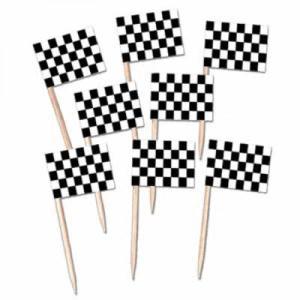 Racing Checks Cupcake picks (50)