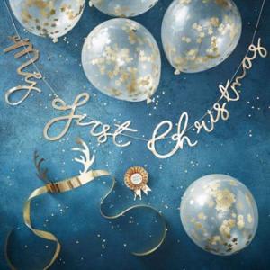 Gold Christmas - My first Christmas Photo Shoot Kit