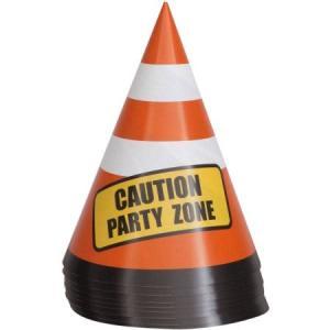 Construction Party Cones (8)