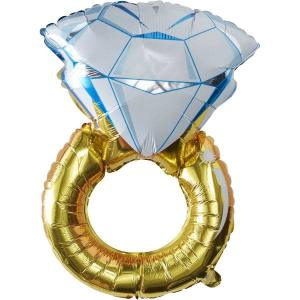 I Do Crew Giant Ring Foil Balloon 32 inch