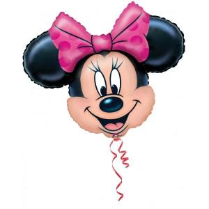Minnie Mouse Head Supershape Balloon