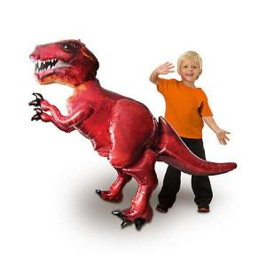 Dinosaur Airwalker Foil Balloon