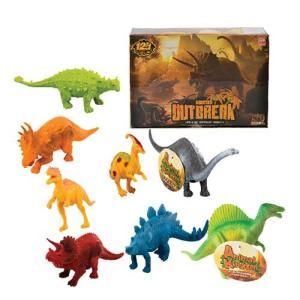 Dinosaur Plastic Toy each