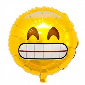 Emoji Grin balloon