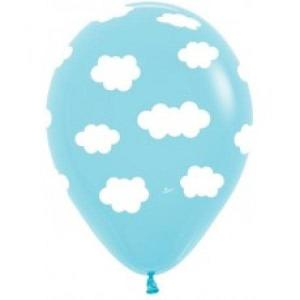 White clouds in sky balloons (5)