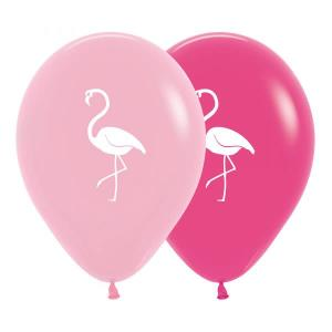 Flamingo Balloons Assorted (5)