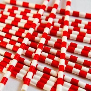 Fire truck Paper Straws (25)