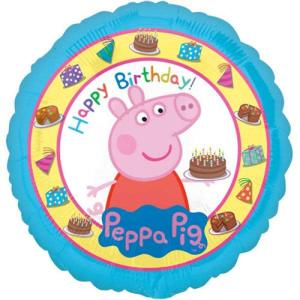 Peppa Pig 18 Inch Happy Birthday Balloon
