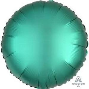 Satin Luxe Jade Circle Foil Balloon 18inch