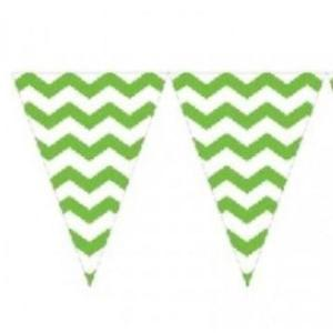 Lime Green Chevron Bunting