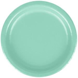 Mint Green Paper Plates  Small (8)